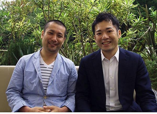 (左)山崎亮さん(右)横尾俊成さん 写真提供:産学社