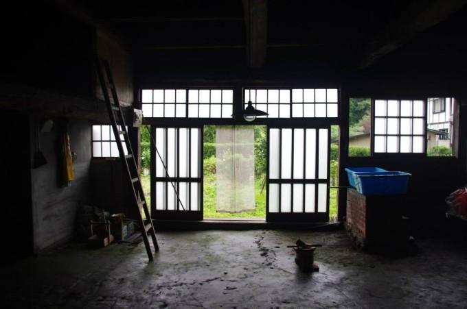 静けさの漂う玄関