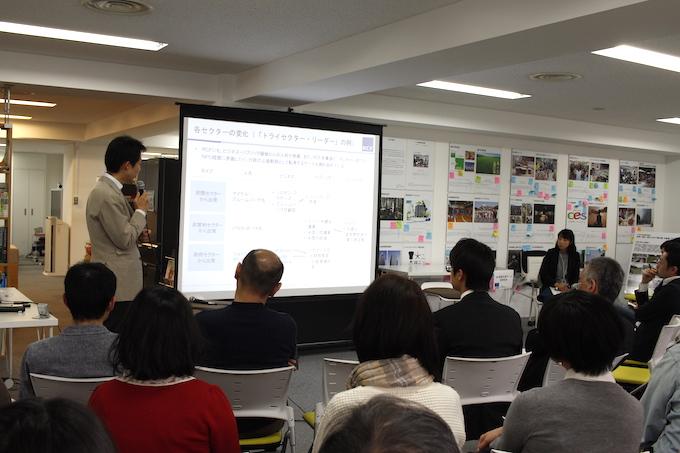 活動を紹介するRCF代表理事の藤沢烈さん