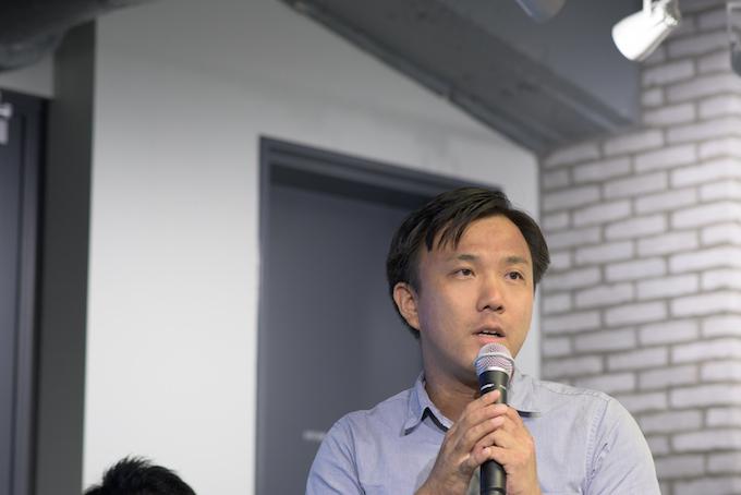 NPO法人スタンバイ理事の江口晋太朗