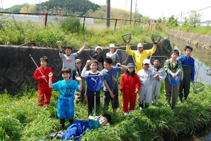 photo by カワサポ掲載プロジェクト「合瀬川の生き物マップをつくる!」
