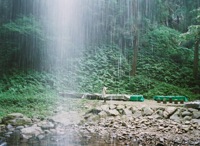 写真:鳥取県湯梨浜町 今滝にて ©Matsumoto Mieko